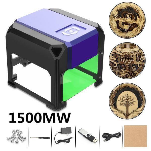 小型レーザー彫刻機