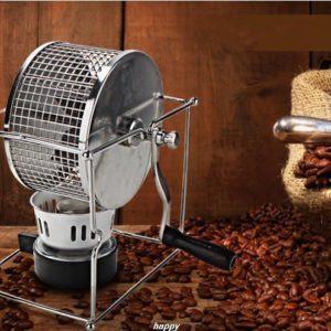 コーヒー豆 煎る